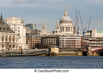 St Pauls from the Southbank