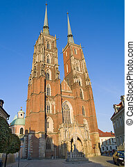 Cathedral of Wroclaw, Poland