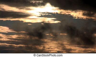 sunset rain 2