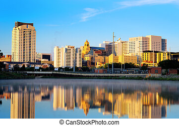 Rochester, Minnesota - Calm morning in Rochester, Minnesota...