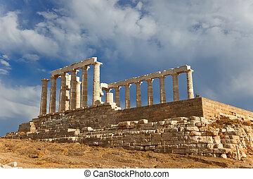 Ruinas, Poseidon, templo