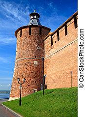 Tainitzkaya tower of Nizhny Novgorod Kremlin