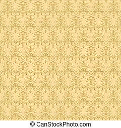 beige vegetable seamless pattern - illustration beige...