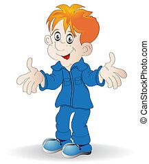 redhead merry boy