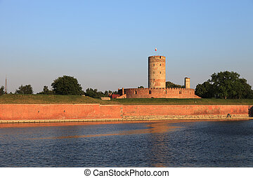 Wisloujscie Fortress a place where in the fifteenth century,...