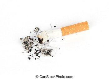 Cigarrillo, culito