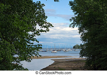 Snug Harbor2 - A view of Snug Harbor on Lake Champlain from...