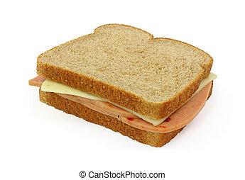 Pickle pimento cheese sandwich.