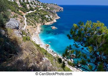 地中海, 海灘, 華麗