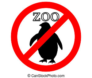 Penguin in zoo prohibited