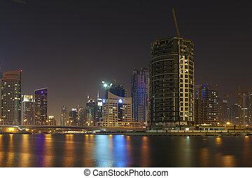 Night city . Dubai