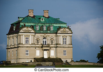 Eremitage Palace - Eremitage hunting lodge in the Dyrhavn...