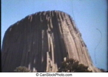 Devils Tower (1974 - Vintage 8mm) - A cool clip of the...