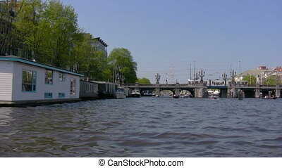 Canals of Amsterdam - boat trip