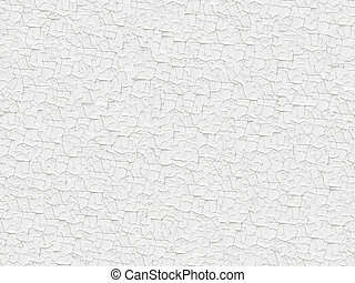 Seamless white painted cracked texture - Seamless white...
