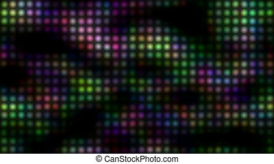 Defocused light circles