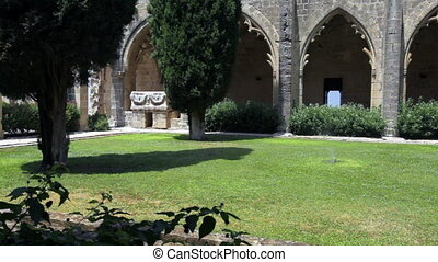 Bellapais Abbey, Kyrenia, Cyprus - Bellapais Abbey of...