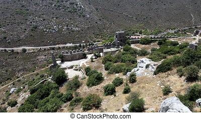 Saint Hilarion Castle, North Cyprus - Saint Hilarion Castle...