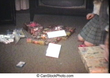 Girl Opens Birthday Presents (1976)