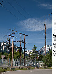 High Mountain Substation - An electrical substation in the...