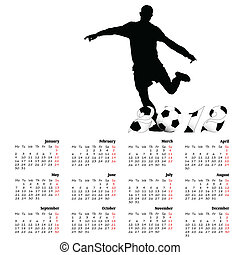 calendar football for 2012 year