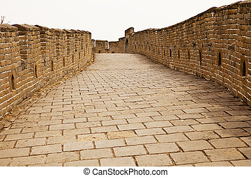 The Road On The Great Wall