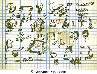 工具, 集合, 工人