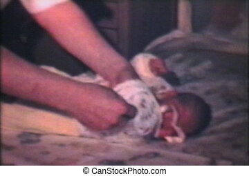 Newborn Baby Comes Home (1968) - A newborn baby girl comes...