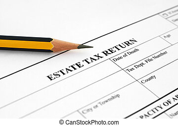 Estate tax return form