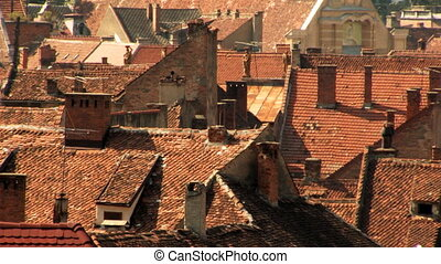 Old City Rooftops Heatwave - Old City Rooftops during...