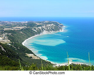 Conero Mount - Adriatic sea, Italy