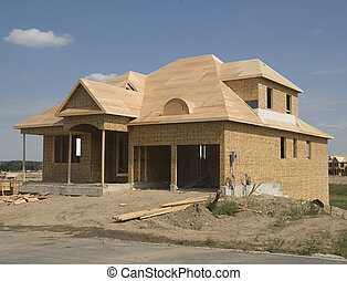 new house construction in the count