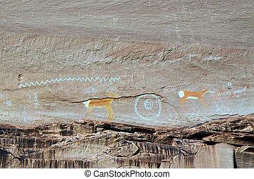 Navajo Indian paintings