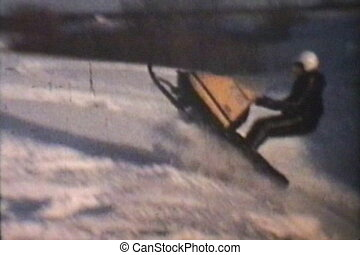 Snowmobiling Jumps (1975)