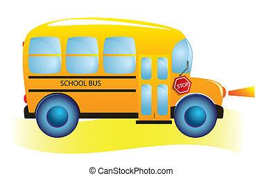 School bus. Back to school.