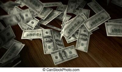 A bucket of Dollars  - A bucket of Dollars