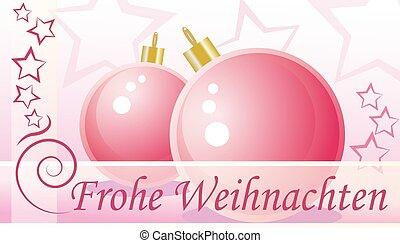 Christmas greetings - German