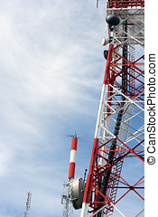 Communications complex - Interesting perspective of a...