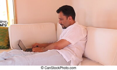 man using a laptop 3