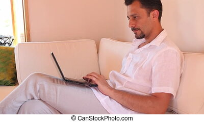 man using a laptop 2