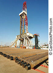 Land drilling rig - A land drilling rig