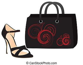 shoe and bag