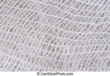 gauze - close-up a gauze(bandage) texture