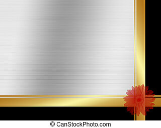 backround - 3d illustration of floral background