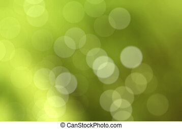 Defocused Green Background (bokeh photographic effect)