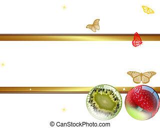 fruits  - Fruit frame
