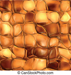 Abstract golden background. Seamless Vector