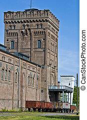 Zeche Hannover - view of the former Zeche Hannover in Bochum