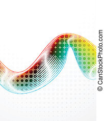 Abstract vector lines - Vector illustration for your design