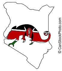 Kenya Chameleon